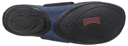Camper Right Nina K200052 003, Ballerines femme Bleu