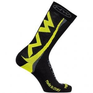 CALCETINES NORTHWAVE EXTREME WINTER NEGRO AMARILLO 2016