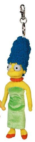 United Labels 0803643 - Simpsons-Schlüsselanhänger 12 cm Marge (Marge Simpson Kostüm Haar)