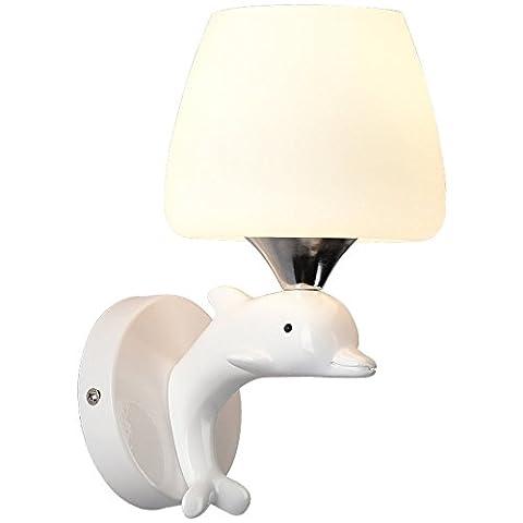 MMYNL Wand Beleuchtung Wandleuchten Hängeleuchten Moderne, einfache Warme Kinder Schlafzimmer