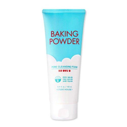 [Etude House] Baking Powder Pores Mousse Nettoyante 160 ml