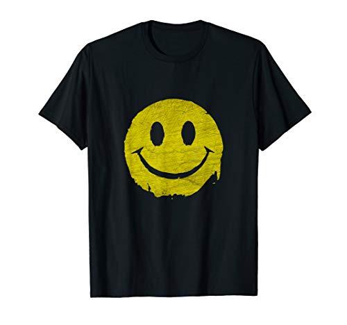Acid Smiley - Music Festival T-Shirt Retro