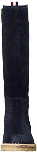 Tommy Jeans Da Donna H1385azel 2b Stivali Blu (mezzanotte)