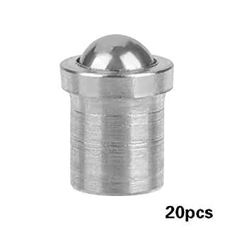 10pcs M10 Filetage en Acier Inoxydable Vis /à Billes /à Piston Plongeur /à Ressort Hexagonal M10*16