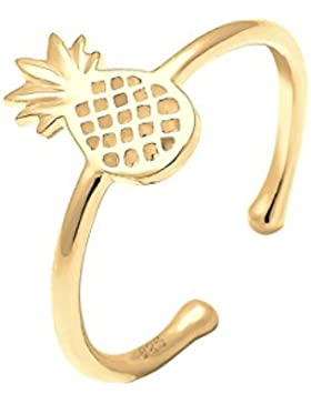 Elli Ring Ananas Sommer Statement 925