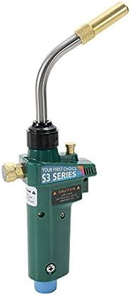 جهاز لحام الحرارة KKmoon مزود بمصباح لحام نحاسي على شكل زناد ذاتي الإشعال مع أداة إصلاح قفل الأمان