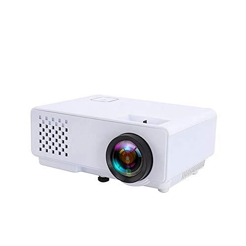 Projeatione Mini Beamer, Unterstützung 1920X1080 Auflösung, 27 Farbverbesserungstechnologien, Kann an HDMI/AV/VGA/USB Angeschlossen Werden