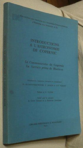 introductions--l-39-astronomie-de-copernic-collection-des-travaux-de-l-39-acadmie-internationale-d-39-histoire-des-sciences