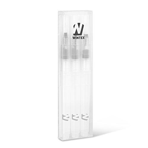 WINTEX® 3er-Set Wasserpinsel (feine, mittlere und breite Pinselspitze) mit integriertem...