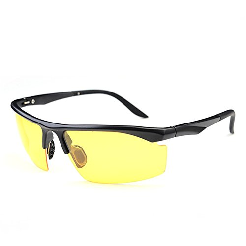 Z-P Classical TR90 Memory-metal Frame Men's Outdoor Sports Bicycle Driving Night Vision Polarized Sunglasses 70MM