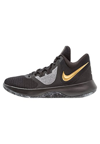 Nike Air Precision Ii/Blk-MTLC Gold-Wh