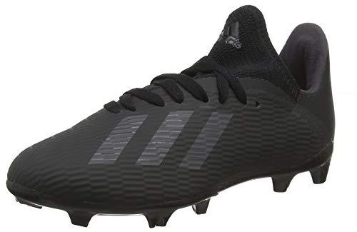 adidas Baby Jungen X 19.3 Fg J Fußballschuhe, Schwarz Core Utility Black/Silver Met, 34 EU