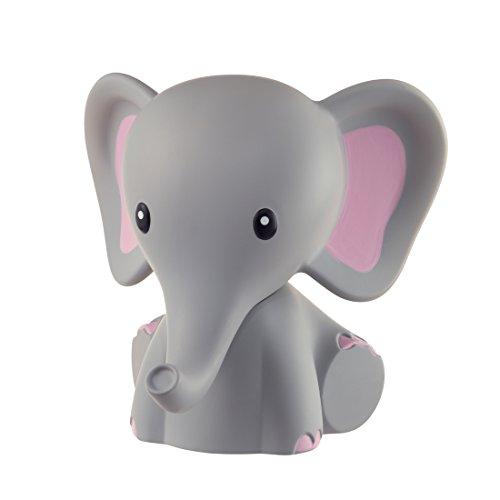 MyBaby Nachtlicht Elefant - Einschlafhilfe, Spielzeug, Nachtlicht, Nachttischlampe, Einschlaflicht für Babys und Kleinkinder mit 5 verschiedenen LED Farben und Timerfunktion