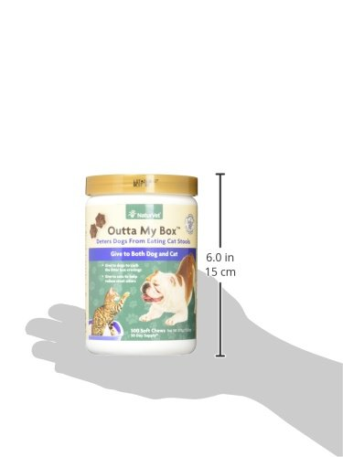 NaturVet Outta My Box Cat Stool Deterrant for Dogs and Cats (500 Soft Chews) 9