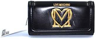Love Moschino, Portafogli donna, Collezione Autunno Inverno, Accessori da viaggio, Unica