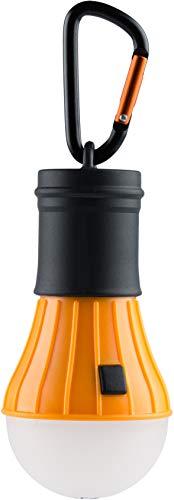 munkees Camping Accessories I Zubehör I Hochwertige LED Campinglampe I Lantern Light I Wasserdicht ohne Strom, Orange, 1028