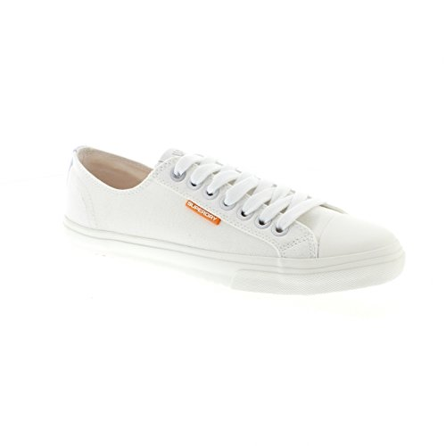 Low Pro Sleek Sneaker - White-White