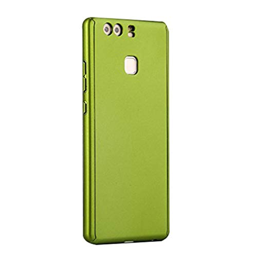 Beryerbi Huawei P9/P9 Plus Hülle Premium Kratzfest PC 3 in 1 Ultra hart Case Ultra dünn Slim Leicht Anti-Kratzer, Stoßdämpfend, Anti-Scratch (Huawei P9 Plus, Grün)