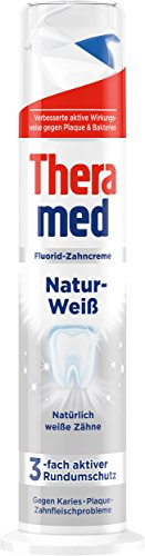 Theramed Zahncreme Spender naturweiss, 5er Pack (5 x 100 ml)
