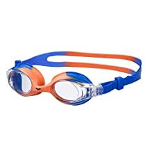 arena X-Lite Child's Unisex Swimming Goggles, Children's, Schwimmbrille X-Lite, blue_orange,clear, One Size