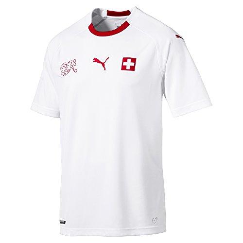 Puma Schweiz Trikot Away Herren WM 2018 - SHAQIRI 23, Größe:L