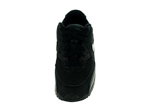Nike Jungen Air Max 90 Mesh (PS) Laufschuhe, Schwarz, 27.5 EU Schwarz / Grau (Schwarz / Schwarz-Cool Grey)