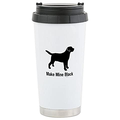 CafePress - Make Mine Black - Stainless Steel Travel Mug, Insulated 16 oz. Coffee & Tea Tumbler