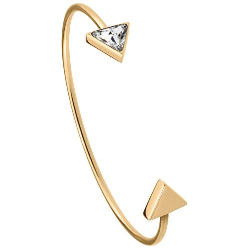 Tamaris Jewelry Sandy Armspange Edelstahl vergoldet mit Glasstein A07131020