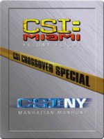 CSI Miami - New York CROSSOVER SPECIAL - steel case collectors ed.