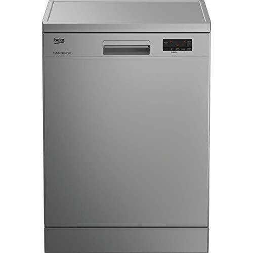 Beko LAP65S2 lave-vaisselle Autonome 15 places A++ - Lave-vaisselles (Autonome, Acier inoxydable, Taille maximum (60 cm), Acier inoxydable, Tactil, LED)