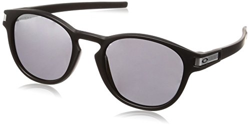 Oakley Herren-Latch Asian Fit Sonnenbrillen, O, Prizm Schwarz Matt-schwarz