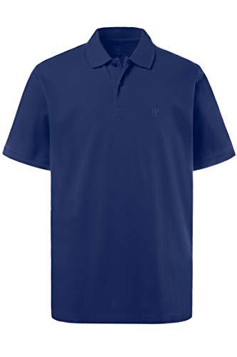 JP 1880 Herren, Poloshirt , Halbarm, Unifarben, Farbe: Kobalt, Gr. 4XL