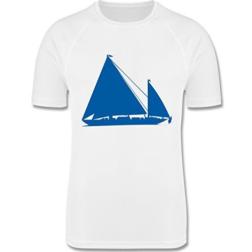 Gebraucht, Shirtracer Wassersport - Segelboot - M - Weiß - F350 gebraucht kaufen  Wird an jeden Ort in Deutschland