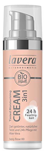 Lavera Tinted Moisturising Cream 3in1 -Ivory Rose 00, 30 ml