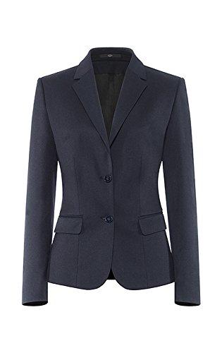 GREIFF Damen-Blazer Anzug-Jacke BASIC comfort fit - Style 1432 - marine - Größe: 42 (Zwei-knopf-anzug-blazer)