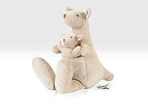 Beehive Toys Cuddly Kangaroo - Peluche de Canguro con bebé Joey (20 cm)