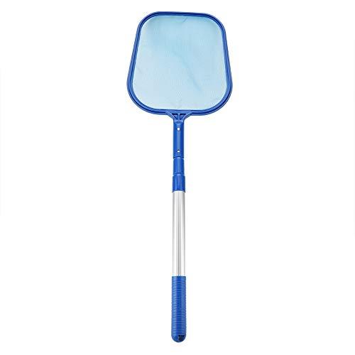 Blatt Skimmer - Schwimmbad Blatt Skimmer Ineinander greifen-Netz mit Teleskopstange Pond Tub Reinigungswerkzeug (Größe : 3 * 35cm) -
