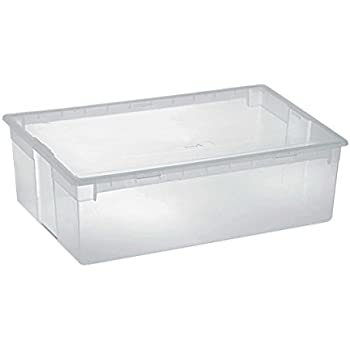 xl aufbewahrungsbox mit deckel aus robustem und. Black Bedroom Furniture Sets. Home Design Ideas
