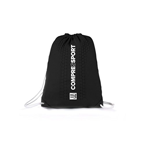 Compressport Endless Backpack Rucksack Beutel Sport Training Wettkampf Bag Tasche (blue) black