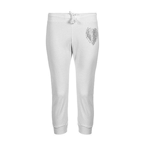 Brody & Co - Pantalon de sport - Femme Rose Rose Blanc