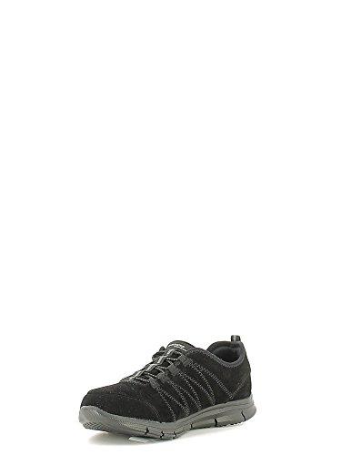 Skechers Glider, Baskets Basses Femme Noir