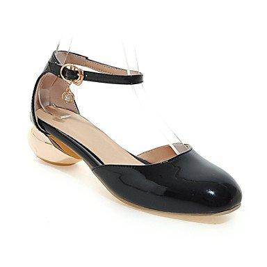 Zormey Frauen Heels Frühling Sommer Club Schuhe D'Orsay & Amp; Zweiteilige Komfort Lackleder Kundenspezifischen Materialien Hochzeit Büro & Amp; Karriere Dressspool US10.5 / EU42 / UK8.5 / CN43
