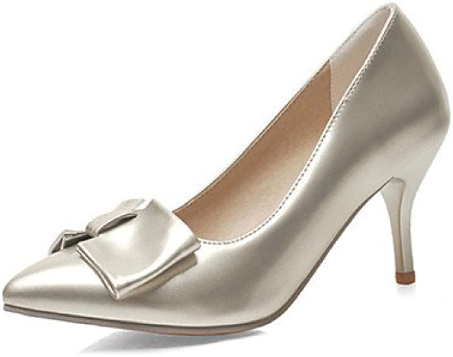Zormey Women'S Heels Spring Summer Fall Winter Club Shoes Comfort Patent Leather Wedding Office &Amp; Career Dress...