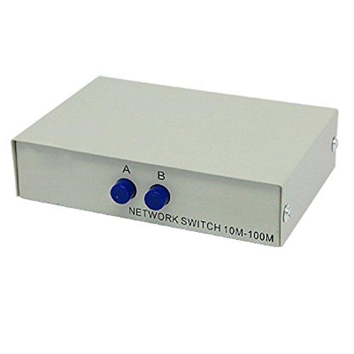 Ab 2-wege-schalter Box (SODIAL (R) RJ45 8P8C Netzwerk/ Telefon AB 2-Wege 8P8C Handbuch Schalter Box)