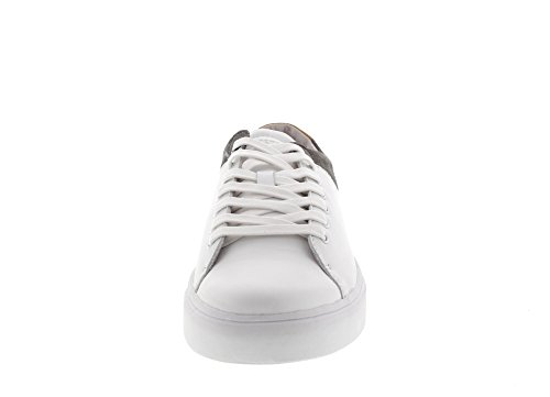 BLACKSTONE - Sneaker NM03 - white grey White Grey