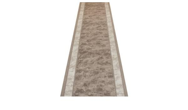 Mas Grey - Hall & Stair Carpet Runner (Available in any length up to 30m): Amazon.co.uk: Kitchen & Home