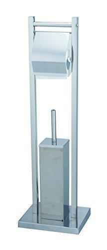 WC Garnitur - Toilettenbürste mit Rollenhalter