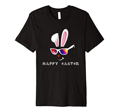 Osterhasen Sonnenbrille Hase Frohe Ostern T-Shirt Geschenk