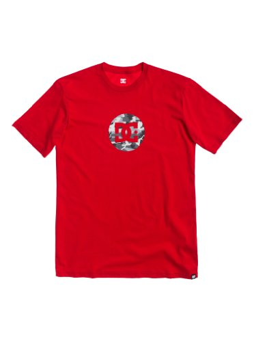 DC Shoes - Maglietta, Uomo, rosso (Rouge (Athletic Red)), S