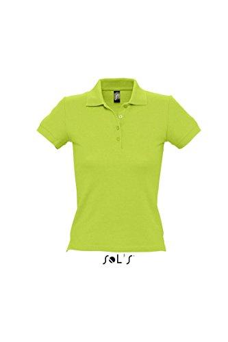 Sol' s–Ladies polo People 210 Verde mela